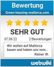 Bewertungen zu green-housing-mallorca.com