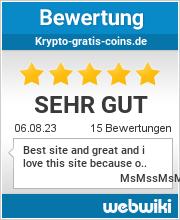 Bewertungen zu krypto-gratis-coins.de