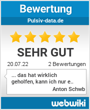Bewertungen zu pulsiv-data.de
