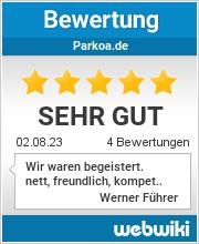 Bewertungen zu parkoa.de