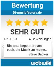 Bewertungen zu dj-musicfactory.de