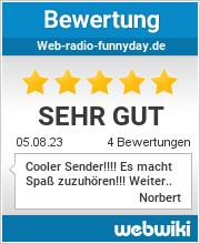 Bewertungen zu web-radio-funnyday.de