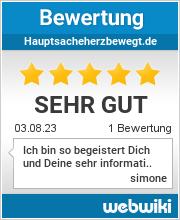 Bewertungen zu hauptsacheherzbewegt.de