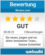 Bewertungen zu skvaro.com