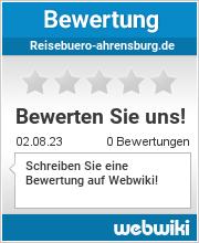 Bewertungen zu reisebuero-ahrensburg.de