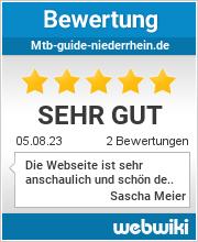 Bewertungen zu mtb-guide-niederrhein.de