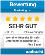 Bewertungen zu marketingo.at