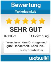 Bewertungen zu yukiorigami.de