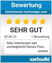 Bewertungen zu griechische-mythologie.com