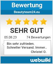 Bewertungen zu beautyteam24.eu