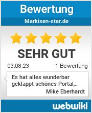 Bewertungen zu markisen-star.de