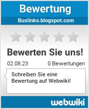Bewertungen zu buslinks.blogspot.com