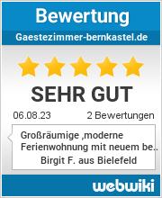 Bewertungen zu gaestezimmer-bernkastel.de