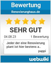 Bewertungen zu renovierunghaus.de