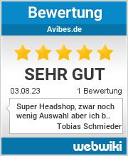 Bewertungen zu avibes.de
