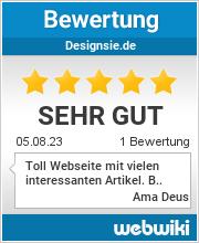Bewertungen zu designsie.de