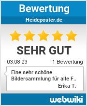 Bewertungen zu heideposter.de