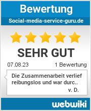 Bewertungen zu social-media-service-guru.de