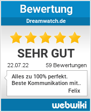 Bewertungen zu dreamwatch.de