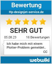 Bewertungen zu hp-designjet-service.de