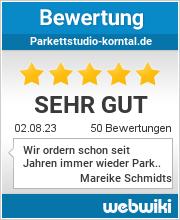 Bewertungen zu parkettstudio-korntal.de