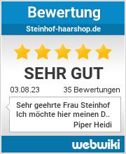 Bewertungen zu steinhof-haarshop.de