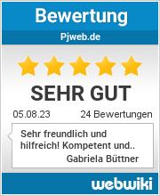 Bewertungen zu pjweb.de