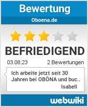 Bewertungen zu oboena.de