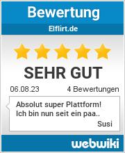 Bewertungen zu elflirt.de