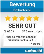 Bewertungen zu eifelsucher.de