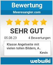 Bewertungen zu meeresangler.com