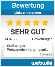 Bewertungen zu linkzentrale.com