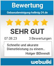 Bewertungen zu gebaeudereinigung-hellmig-24.de