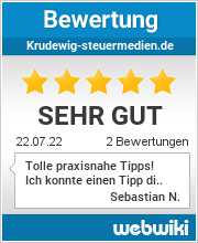 Bewertungen zu krudewig-steuermedien.de