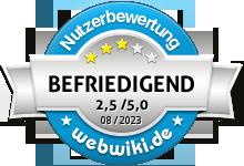 bett1.de Bewertung