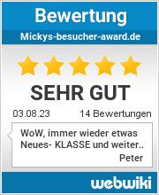 Bewertungen zu mickys-besucher-award.de