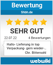Bewertungen zu shbh.de