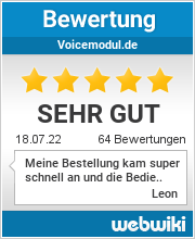 Bewertungen zu voicemodul.de