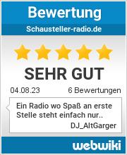 Bewertungen zu schausteller-radio.de