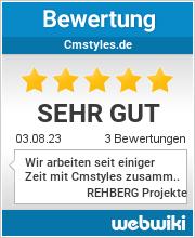 Bewertungen zu cmstyles.de