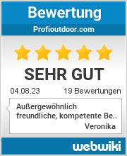 Bewertungen zu profioutdoor.com