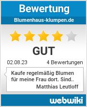 Bewertungen zu blumenhaus-klumpen.de
