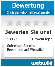 Bewertungen zu christian-thomalla-privat.de