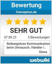 Bewertungen zu conceptrun.de