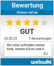 Bewertungen zu diskus-ralf.de