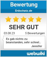Bewertungen zu erdschatz.de