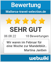 Bewertungen zu mallorca-travel-selection.de