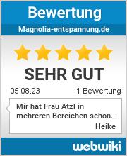 Bewertungen zu magnolia-entspannung.de