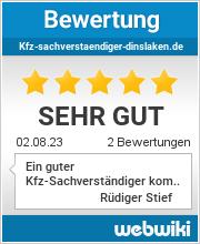 Bewertungen zu kfz-sachverstaendiger-dinslaken.de