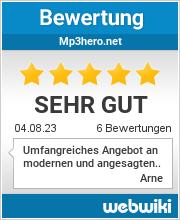 Bewertungen zu mp3hero.net
